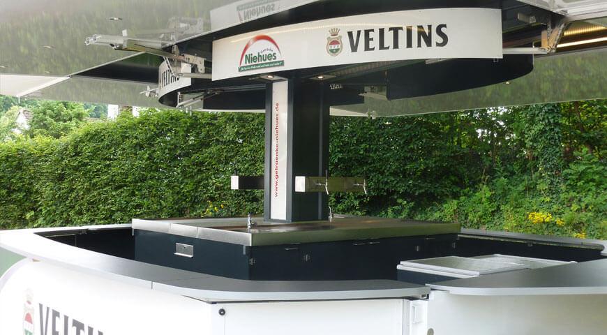 Ausschankwagen Veltins T46