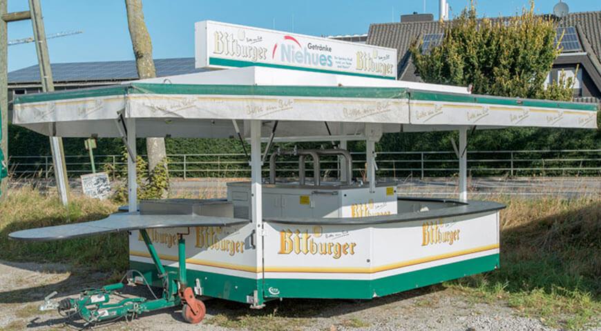 Bitburger Bierwagen